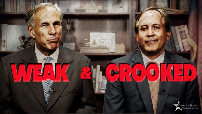 Greg Abbott is weak and Ken Paxton is crooked